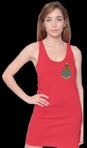 American Apparel Racerback Tank Dress w/ Crest