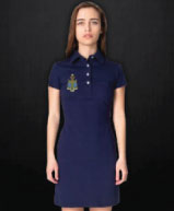 American Apparel Leisure Dress with Crest