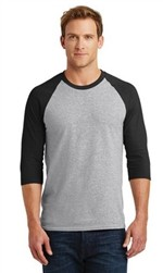 Gildan Heavy Cotton™ 3/4-Sleeve Raglan T-Shirt-Fast Shipping