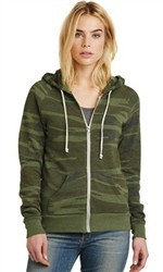 Alternative Adrian Eco-Fleece Zip Hoodie-Fast Shipping