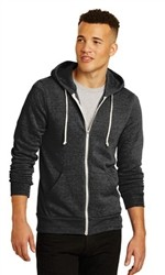 Alternative Rocky Eco-Fleece Unisex Zip Hoodie-Fast Shipping