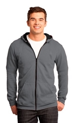 District Unisex Concert Fleece Full Zip Hoodie-Fast Shipping