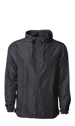 Independent Unisex Lightweight Windbreaker Jacket