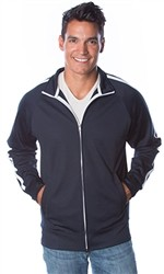 Independent Unisex Lightweight Poly-Tech Zip Track Jacket