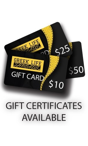 Greek Life Threads Gift Certificate