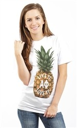 ALPHA PHI AO PINEAPPLE UNISEX T SHIRT