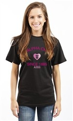 ALPHA CHI OMEGA SINCE 1885 UNISEX TEE