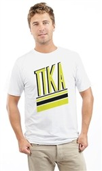 PI KAPPA ALPHA BLACK N YELLOW UNISEX TEE