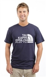 TAU KAPPA EPSILON NORTH FACE UNISEX TEE