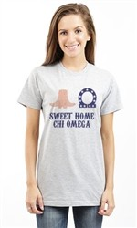 CHI OMEGA SWEET HOME UNISEX TEE