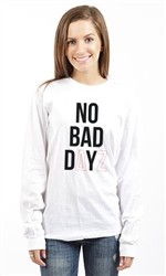 DELTA ZETA NO BAD DAYZ LONG SLEEVE TEE