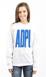 ALPHA DELTA PI LONG SLEEVE T Shirt