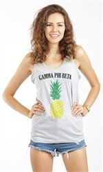 GAMMA PHI BETA PINEAPPLE UNISEX TANK