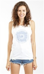 GAMMA PHI BETA WHEEL UNISEX TANK