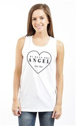 PI BETA PHI ANGEL UNISEX TANK