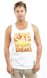 SUH DUDE SPRING BREAK UNISEX TANK
