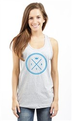 ZETA TAU ALPHA THIN CIRCLE UNISEX TANK