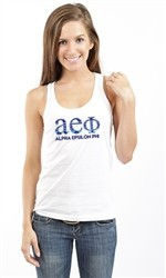 ALPHA EPSILON PHI NATIVE RACERBACK TANK