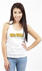 PI BETA PHI -PI PHI COLORS RACERBACK TANK