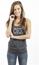 PHI SIGMA SIGMA DREAM CATCHER RACERBACK TANK