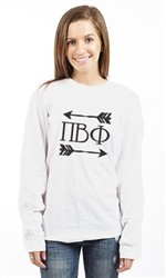PI BETA PHI BIG ARROWS LONG SLEEVE TEE