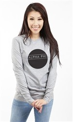 ALPHA PHI CIRCLE LONG SLEEVE TEE