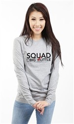 SQUAD LITTLE LONG SLEEVE TEE