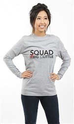 SQUAD BIG LONG SLEEVE TEE
