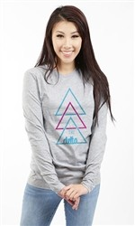 DELTA DELTA DELTA STACKED LONG SLEEVE TEE