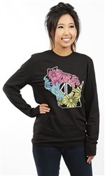 DELTA GAMMA WISCONSIN LONG SLEEVE TEE