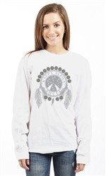 KAPPA ALPHA THETA FLOWERS N FEATHERS LONG SLEEVE TEE