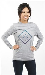 PI BETA PHI SQUARE LONG SLEEVE TEE