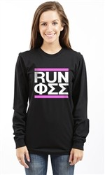 PHI SIGMA SIGMA RUN LONG SLEEVE TEE