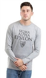 SIGMA ALPHA EPSILON CREST LONG SLEEVE TEE