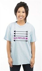 PI BETA PHI PINK ARROW UNISEX TEE