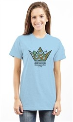 ZETA TAU ALPHA OF THE CROWN FITS UNISEX TEE