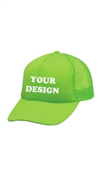 Greek Life Threads Neon Trucker Hat