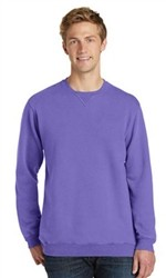Port & Company Essential Pigment-Dyed Unisex Crewneck Sweatshirt-Fast Shipping