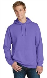 Port & Company® Essential Pigment-Dyed Pullover Unisex Hooded Sweatshirt-Fast Shipping