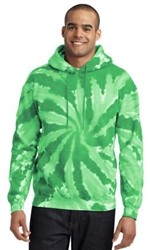 Port & Company® Essential Tie-Dye Pullover Unisex Hooded Sweatshirt-Fast Shipping