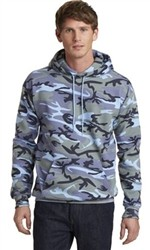 Port & Company Classic Camo Pullover Hooded Unisex Sweatshirt-Fast Shipping