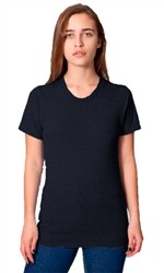 American Apparel Tri Blend Short Sleeve Track Shirt