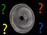 18X8 Standard 150 spokes (color spokes only)