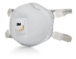 3M 7000002083 Particulate Respirator 8214, N95, with Faceseal and Nuisance Level Organic Vapor Relief 80 EA/Case