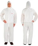 3M 7000089614 Disposable Protective Coverall 4515-XL White, 20 EA/Case