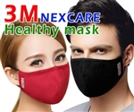 3M Nexcare Comfort Mask 8550 Black Large