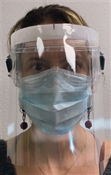 disposable faceshield and headband