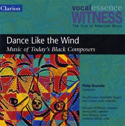 Dance Like The Wind: Music of Today's Black Composers/VocalEssence