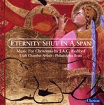 JAC Redford: Eternity Shut In A Span - Christmas Music - Philadelphia Brass - Utah Chamber Artists