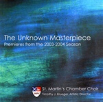 The Unknown Masterpiece/St Martin's Chamber Ch, Krueger
